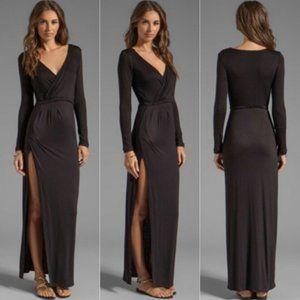 Novella Royale Siren Maxi Dress Black Small